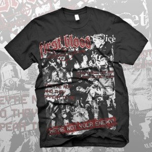 First Blood - Not Your Enemy Tシャツ