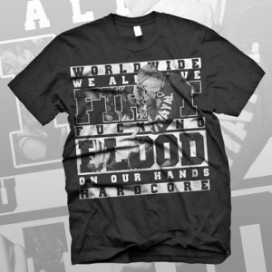 First Blood - On Our Hands Tシャツ