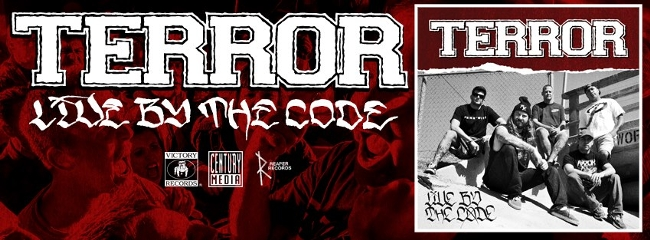 Terror / テラー ニューアルバム「Live By The Code」発売記念