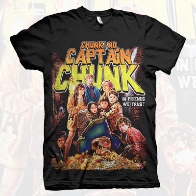 Chunk! No, Captain Chunk! Tシャツ
