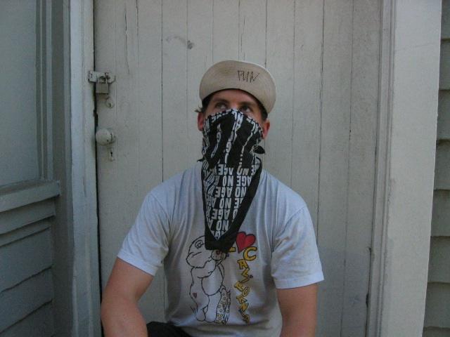 bandana hardcore