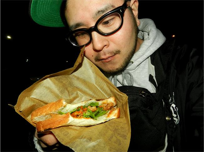 焼肉サンド