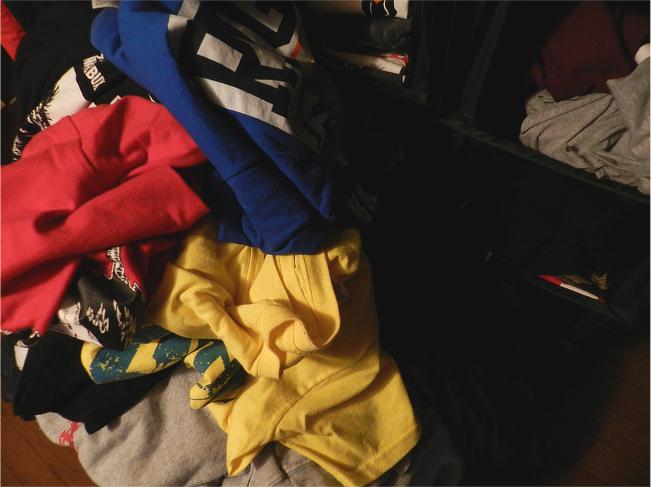 バンドTシャツ 洗濯