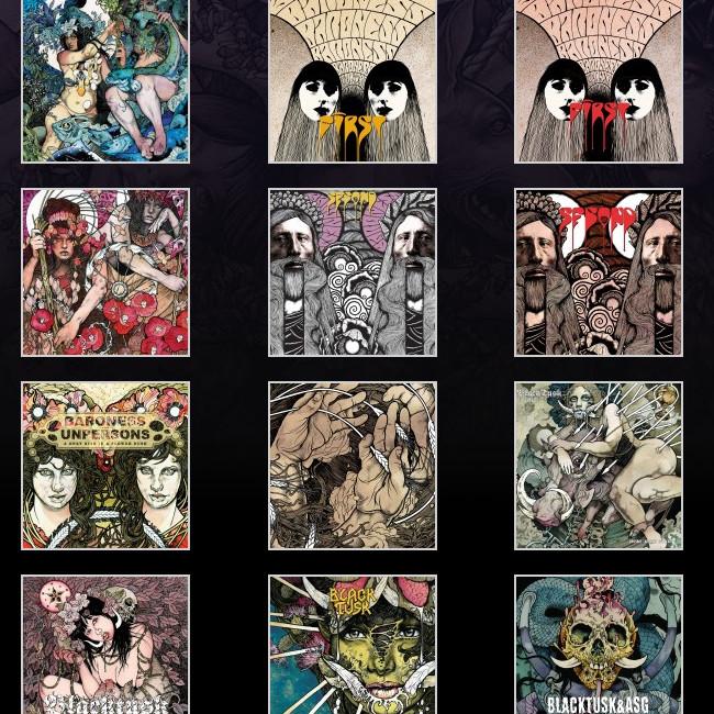 BaronessやDarkest Hour、Skeleton Witch、Kylesa、Pig Destroyer,