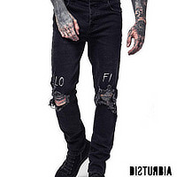 Disturbia Clothing Raise Hell Unisex Denim Jacket