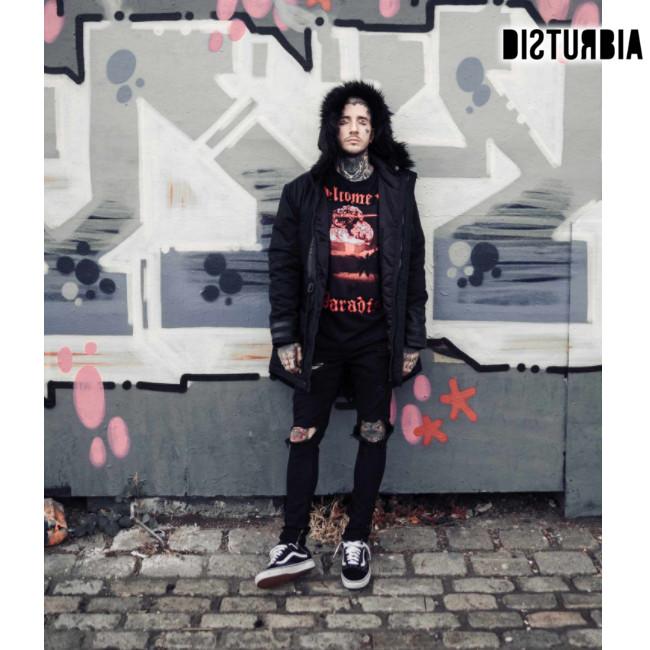 Disturbia Clothing/ディスタービア - NO GODZ PARKA 肉厚・パーカーコート