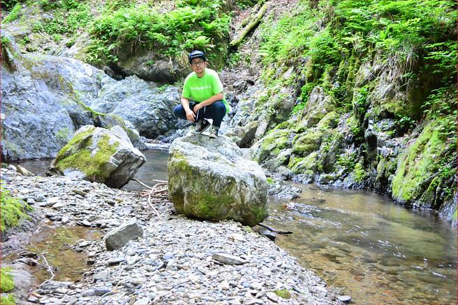 野鹿の滝 名田庄