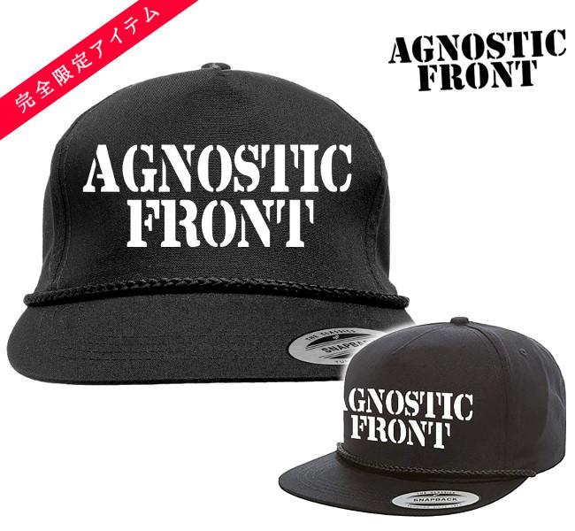 Agnostic Front キャップ