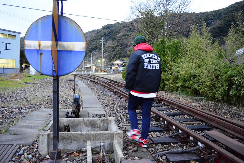 敦賀廃線路
