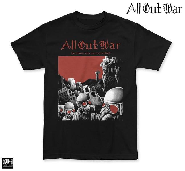 All Out War / オール・アウト・ウォー - Crucified Tシャツ(ブラック)