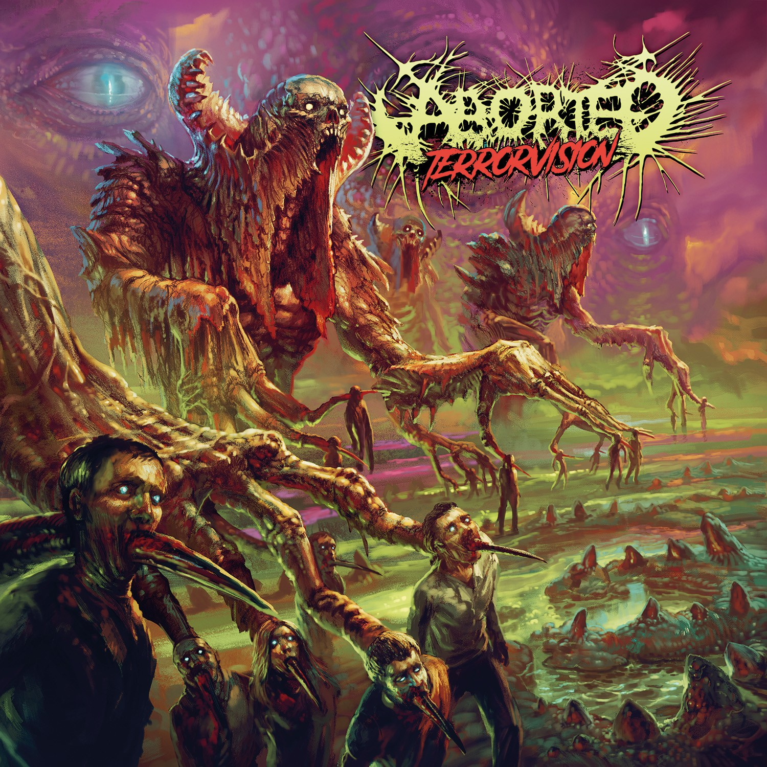 ABORTED / TERROR VISION
