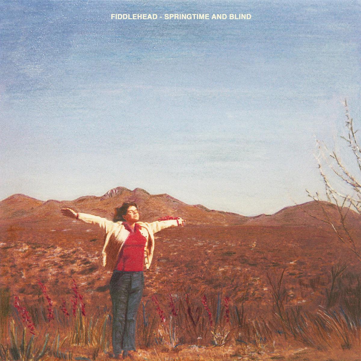 fiddlehead - springtime and blind