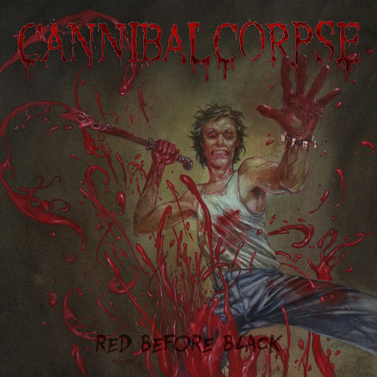 CANNIBAL CORPSE × RED BEFORE BLACK