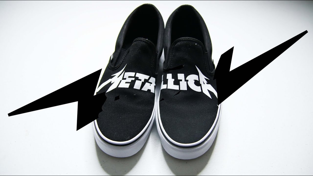 METALLICA × VANS CLASSIC SLIP-ON