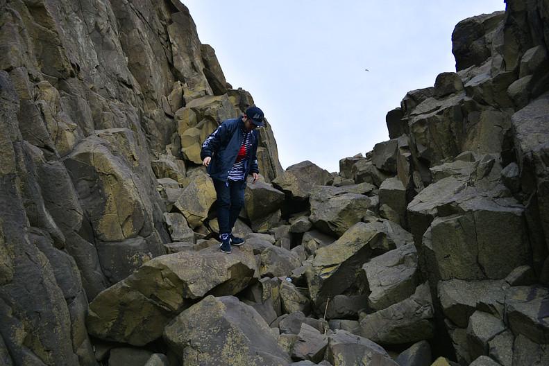 丹後半島立岩