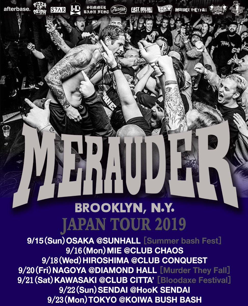 Merauder 来日 2019