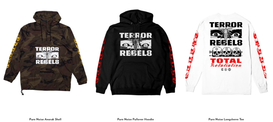 TERROR X Rebel8