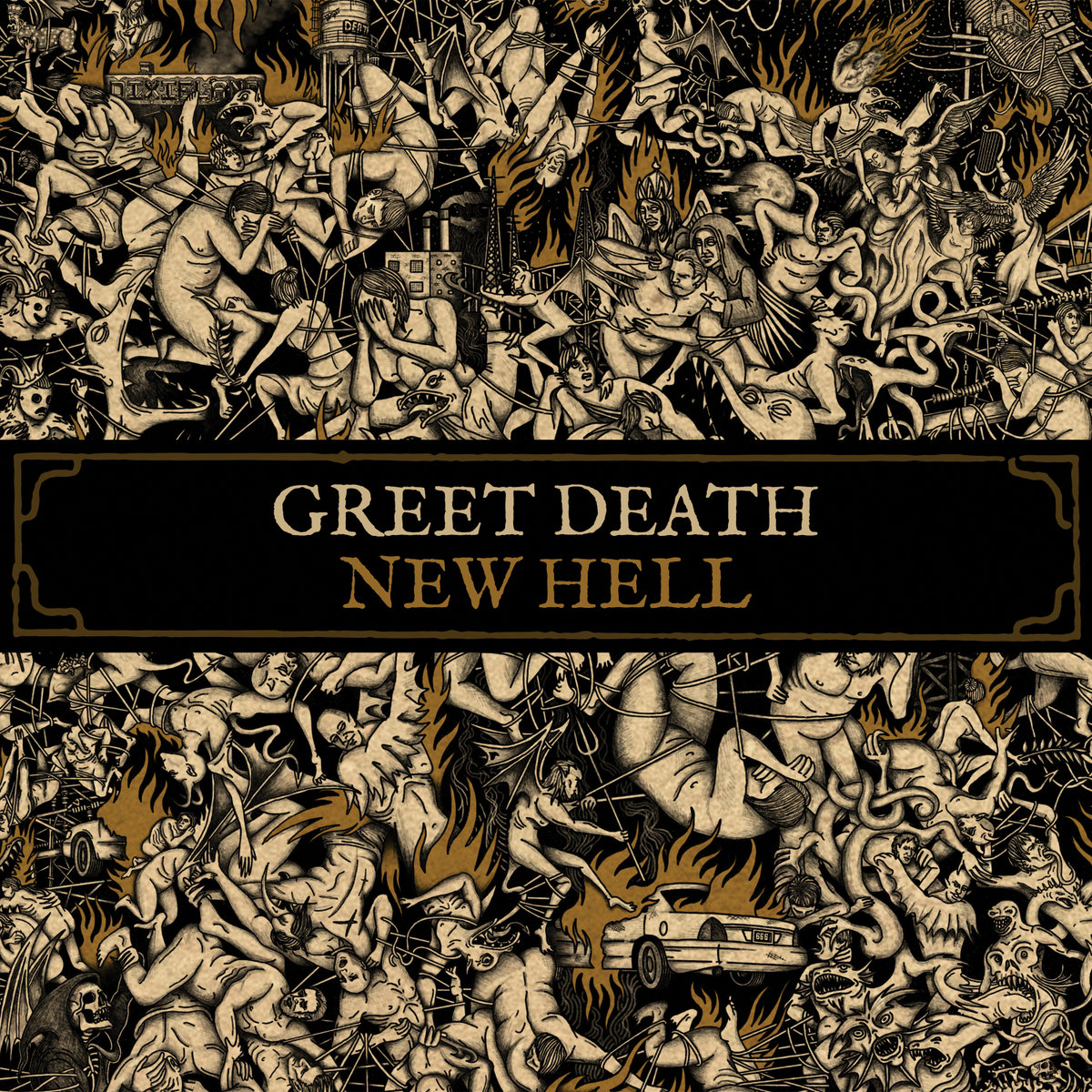 "GREET DEATH ""NEW HELL"""