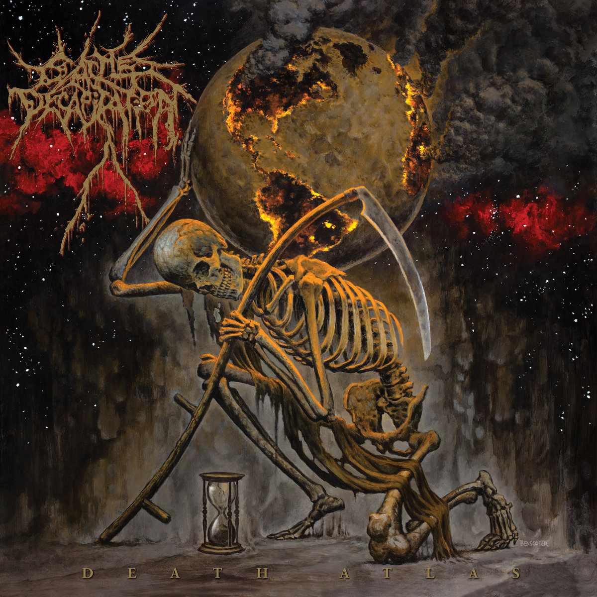 Cattle Decapitation  「Death Atlas」