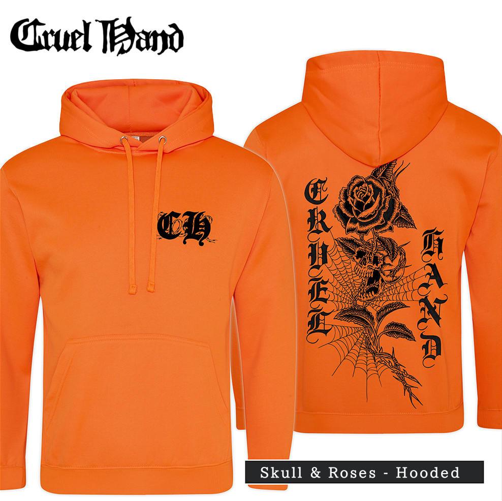 Cruel Hand /クルーエル・ハンド - Skull & Roses プルオーバーパーカー