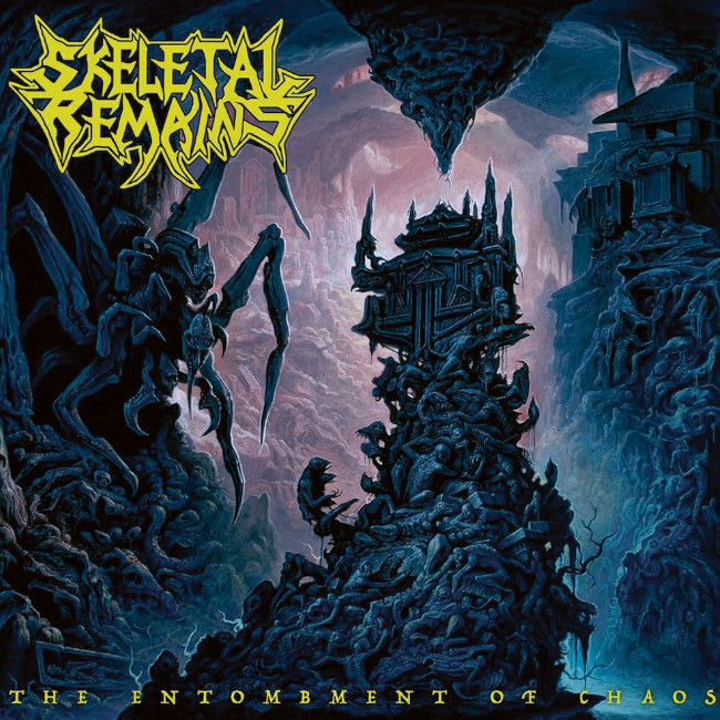 SKELETAL REMAINS / The Entombment Of Chaos