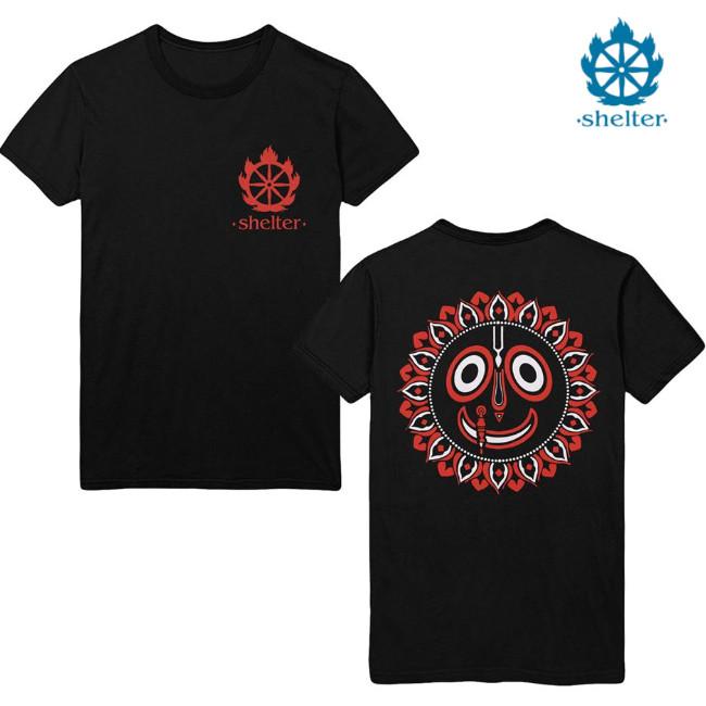 Shelter /シェルター - Mantra Tシャツ(ブラック)